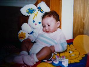 Yep that's me! What a cheerful child!