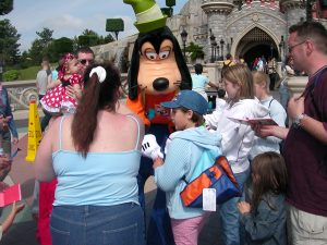 Being ignored by Goofy