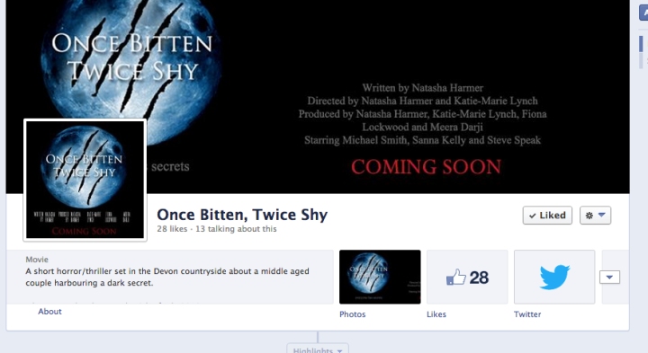 My film's Facebook page