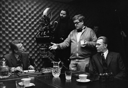 Alfredson directing Tinker Tailor