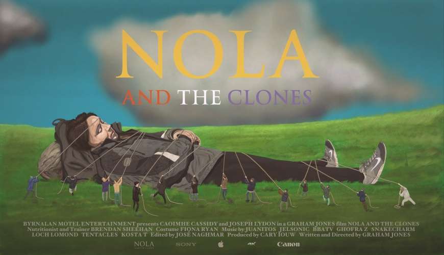 NOLA AND THE CLONES directed by Graham Jones (2016)