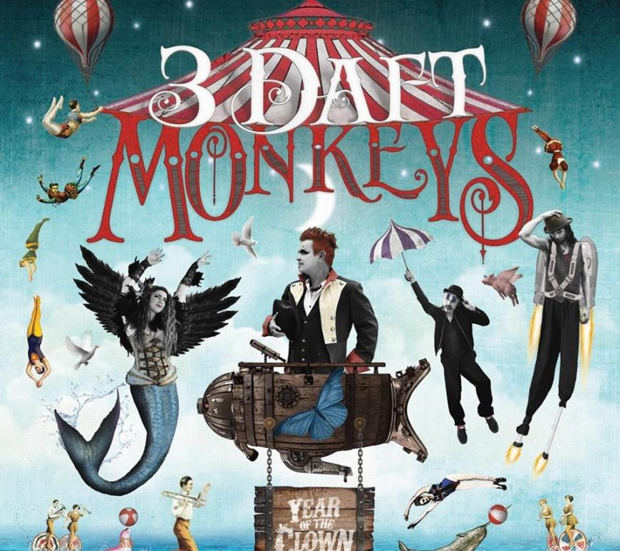 3 Daft Monkeys Year of the Clown