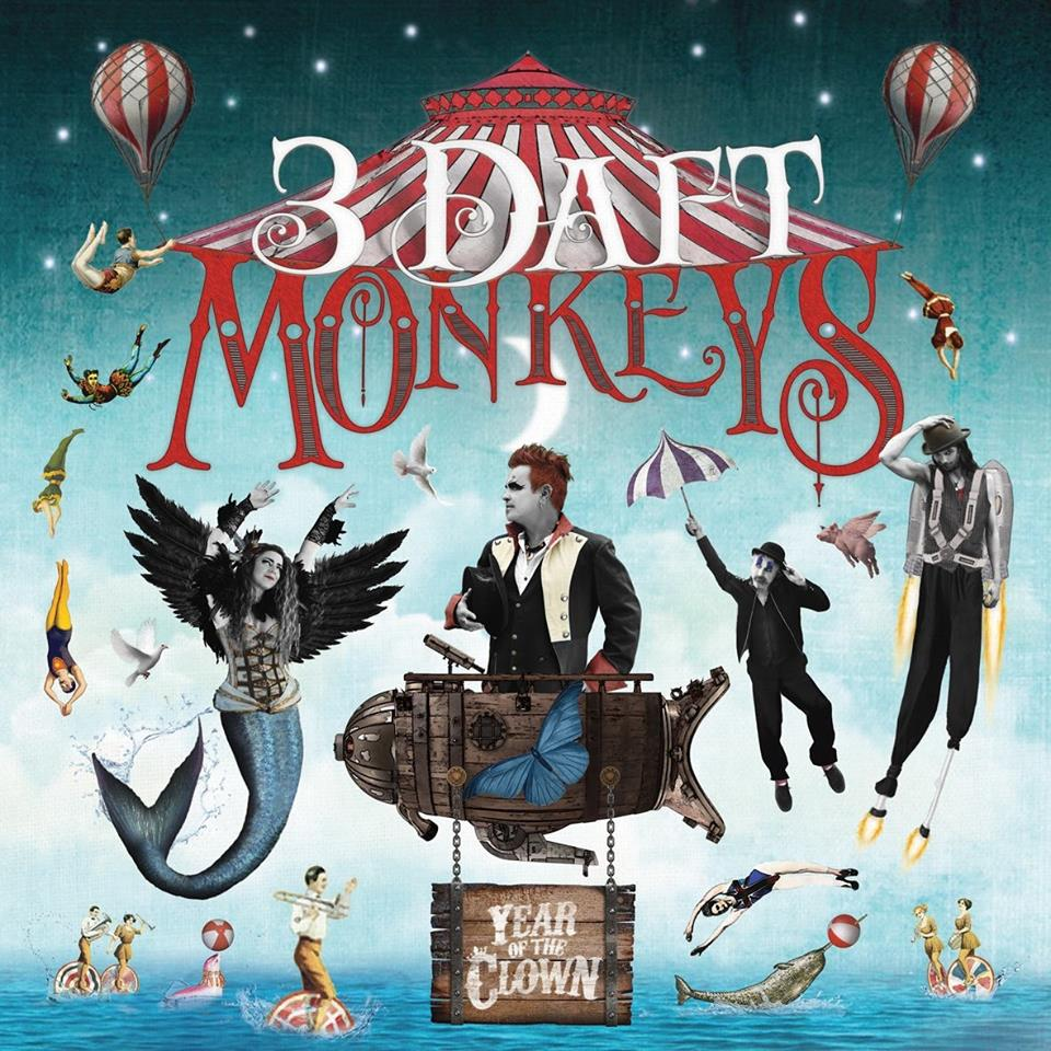 3 Daft Monkeys Year of the Clown